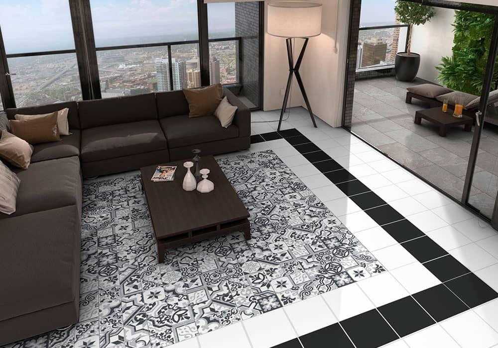 suelo de cerámica